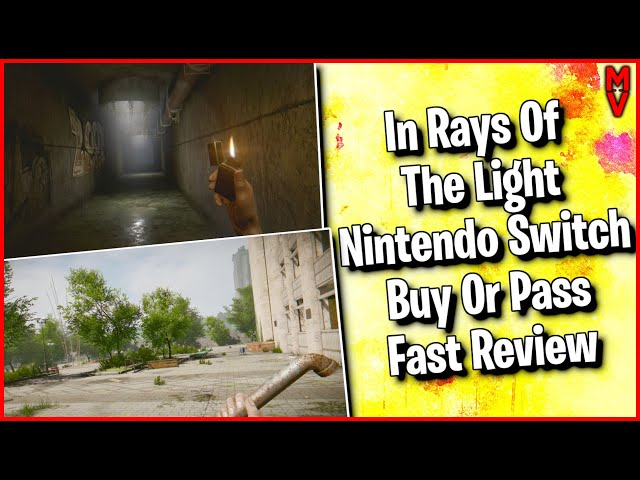 In Rays Of The Light Nintendo Switch Buy Or Pass Fast Review || MumblesVideos