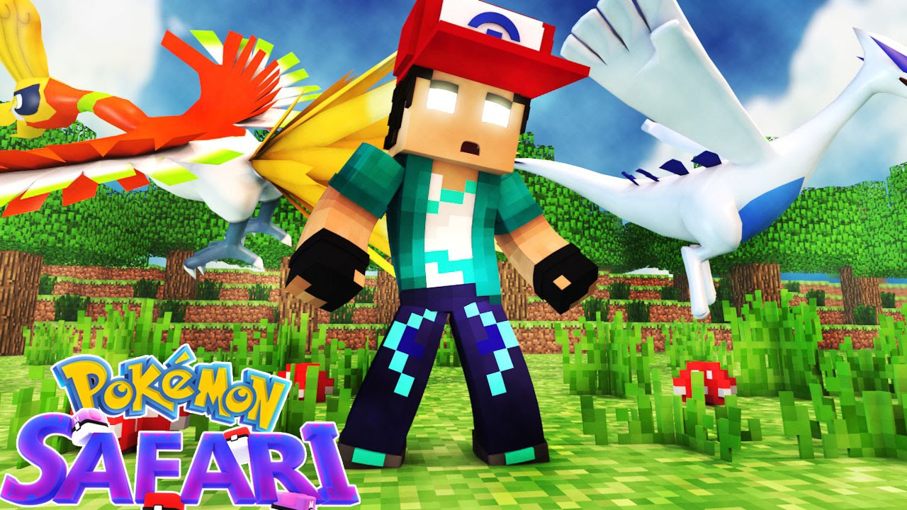 minecraft pokemon safari 03 perdi 2 lendarios youtube