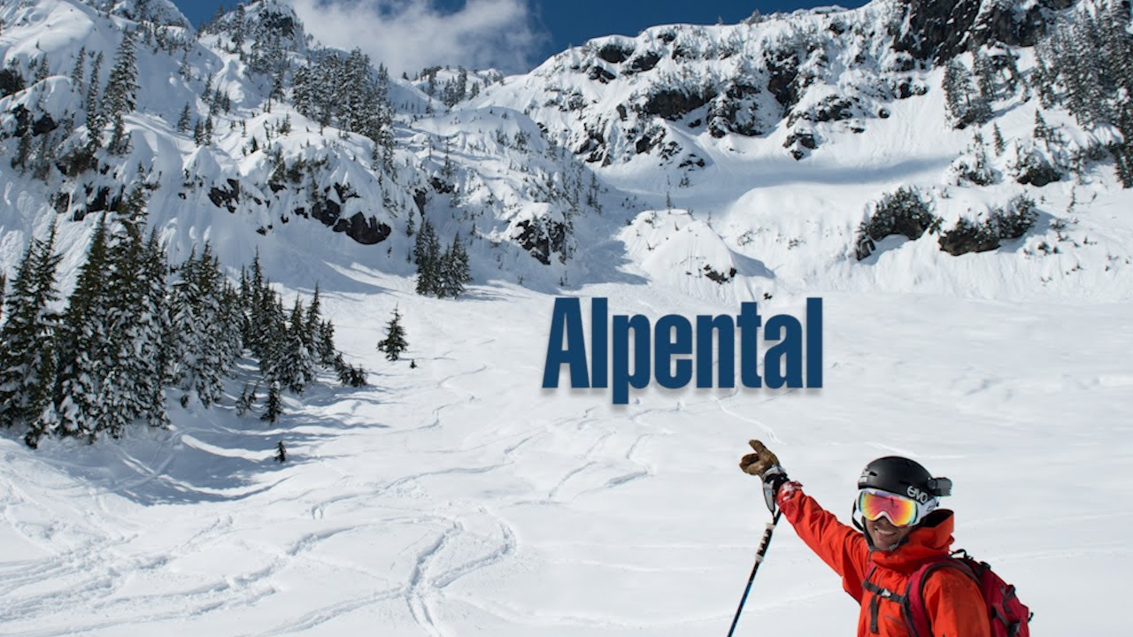 Alpental Washington Backcountry Skiing - YouTube on