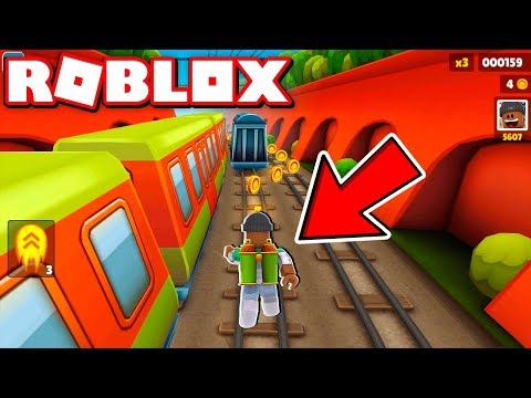 *NEW* SUBWAY SURFERS 2018 IN ROBLOX