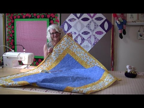 An Easy Way To Sew The Binding On Your Quilt Top