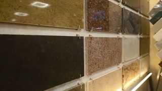 видео Применение литьевого мрамора в современном интерьере