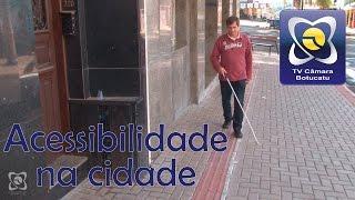 Trigo fala sobre acessibilidade na cidade