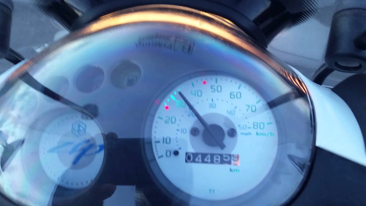 piaggio zip 50cc acceleration and top speed - youtube