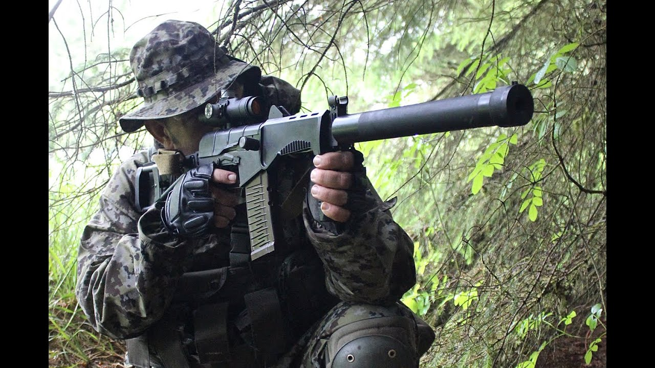 airsoft war l96 sniper fn 5 7 pistols youtube