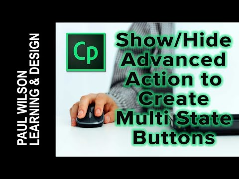 Use a Show / Hide Advanced Actions to Create Multi-state Objects in Adobe Captivate 8