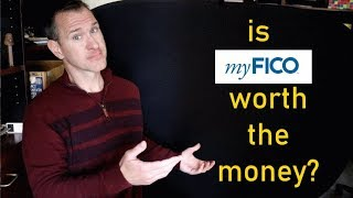 Is myFICO worth it? I bought MY credit scores to see!