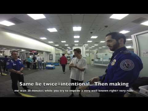 Miami TSA Supervisor Lies Multiple Times
