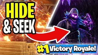 FORTNITE HIDE AND SEEK IS REALLY EASY! (Fortnite Battle Royale Playground V2)