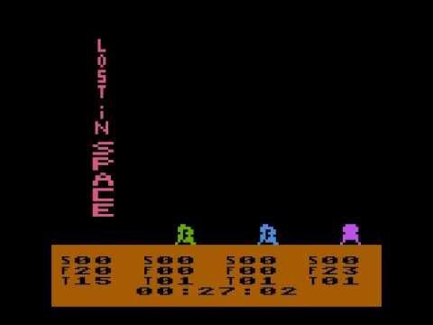 Lost in Space, game for atari 400/800 Xl/XE
