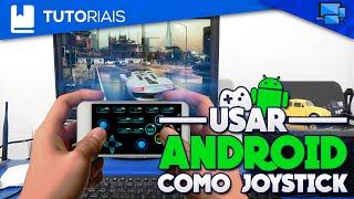 Como Usar seu Smartphone Android como Joystick em seu Computador (Joystick no Pc)