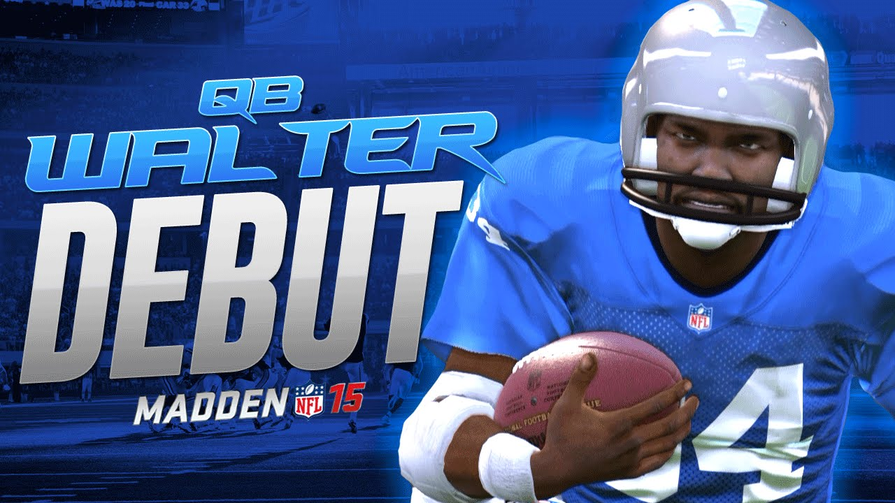 Qb walter payton debut madden 15 ultimate team gameplay ps4 60 fps mut 15 season 3 - Walter payton madden 15 ...