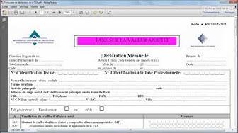 Périodicité de la déclaration de TVA : déclaration mensuelle et trimestrielle