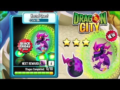 Dragon City - Kernel Dragon [Kernel Quest | Full Fight & Combat 2018]