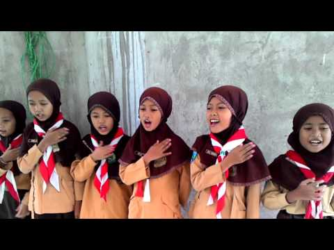 ANAK INDONESIA MENYANYI GARUDA PANCASILA
