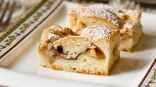 Яблочный пирог. Кексовое тесто