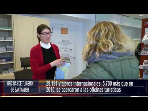 Balance oficinas de turismo Santander 2016