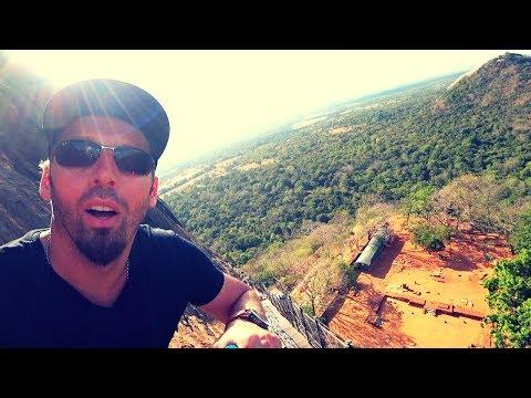 Climbing Sri Lanka's Sigiriya Castle Ruins
