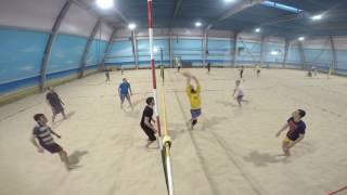 волейбол 21 01 2017 Клуб Песок