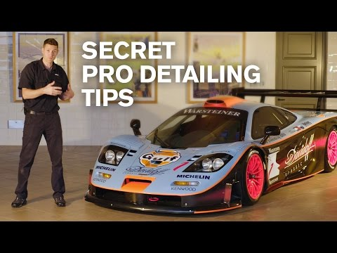 SECRET Pro-Detailing Tips: McLaren F1 GTR LT (138h detail)