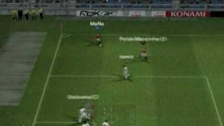 Pes6J Online 2vs2 Manchester United Rule