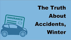 2017 Vehicle Insurance Fundamentals  | The Truth About Accidents, Winter Weather and Car Insurance
