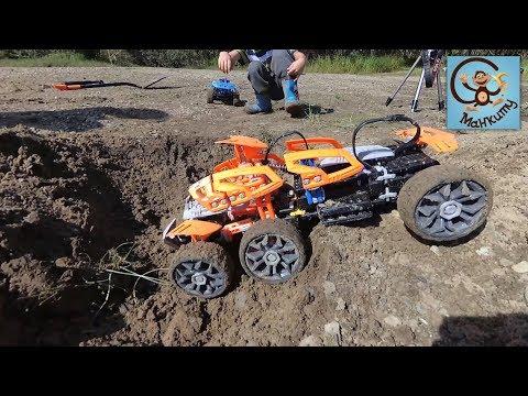 Про машинки игрушки детей за рулём и трассу испытаний
