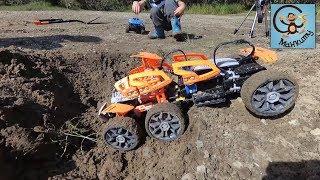 Про машинки игрушки, детей за рулём и трассу испытаний.