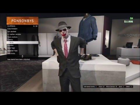 GTA V Mafia Outfit Tutorial - YouTube