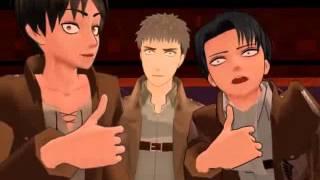 [MMD] Jean does not like to sing - Shingeki no Kyojin parody