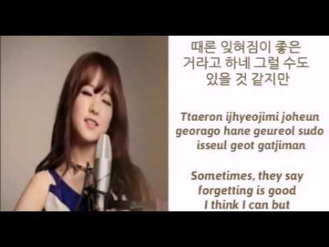 [HAN/ROM/ENG] Park Boyoung - Leaving (떠난다) Lyrics