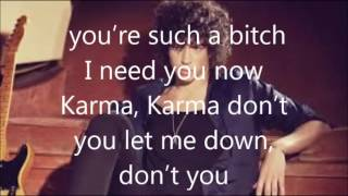 julian perretta karma (lyrics)
