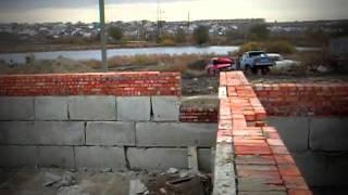 Строительство дома... Цокольный этаж(Строительство дома - Цокольный этаж., 2014-04-09T19:48:56.000Z)