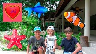 Рыбалка на Мальдивах!!!(Мы приехали отдыхать на Мальдивы!!! Чуча с папой и братиками едут на рыбалку! Мы подробно изучаем инструкцию..., 2016-07-29T11:36:01.000Z)