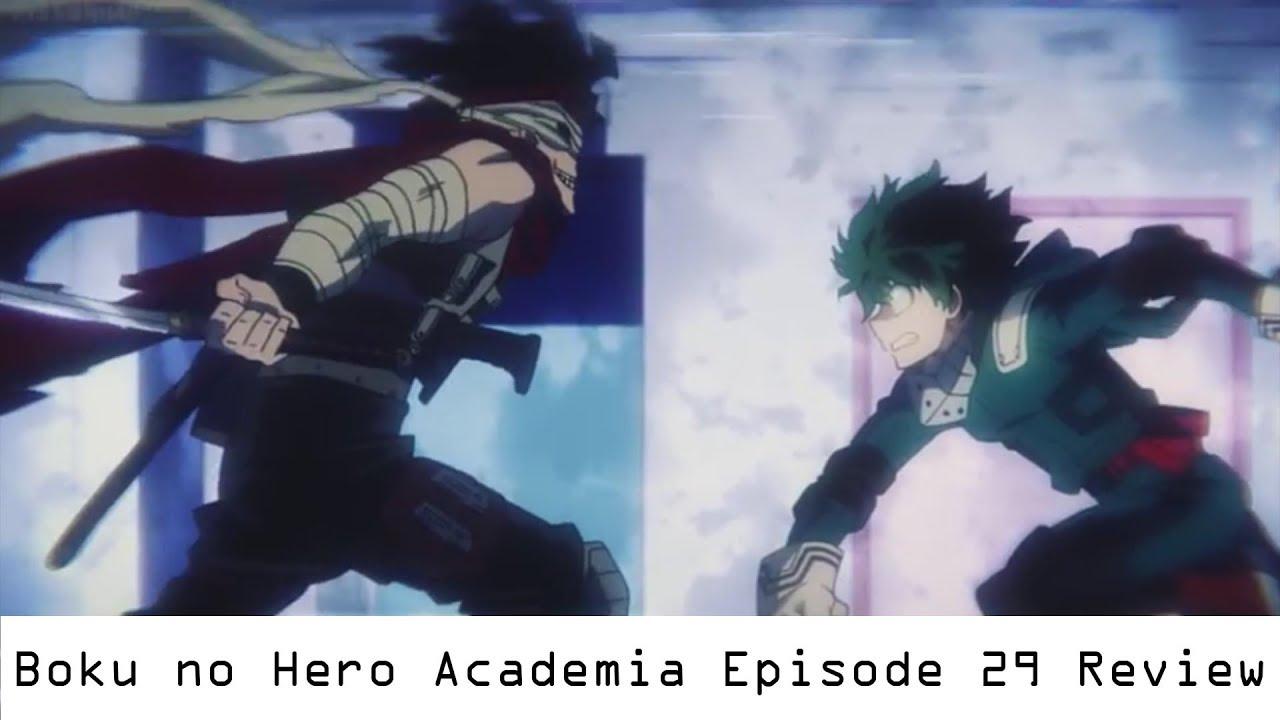 Boku no hero academia review brutal gamer -  So Hype Boku No Hero Academia Episode 29 Review