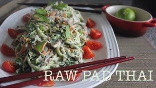 Best Raw Pad Thai Ever - Recipe/ German, Ingredients In English