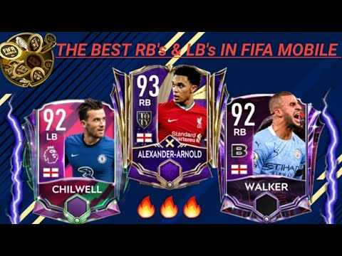 The Best Lb And Rb In Fifa Mobile 21 Go Buy Them Now Youtube