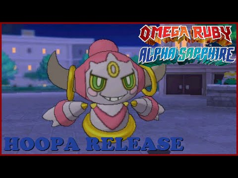 How To Get Hoopa Legit In Pokemon Omega Ruby And Alpha