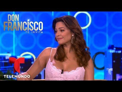 Angélica Celaya fue recepcionista de Telemundo antes de ser actriz  Don Francisco Te Invita  Entre