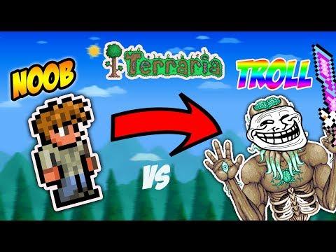 Terraria Trolling - Early 1.3 World Troll