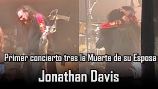 Jonathan Davis rompe en llanto en Concierto tras la perdida de su Esposa | KORN