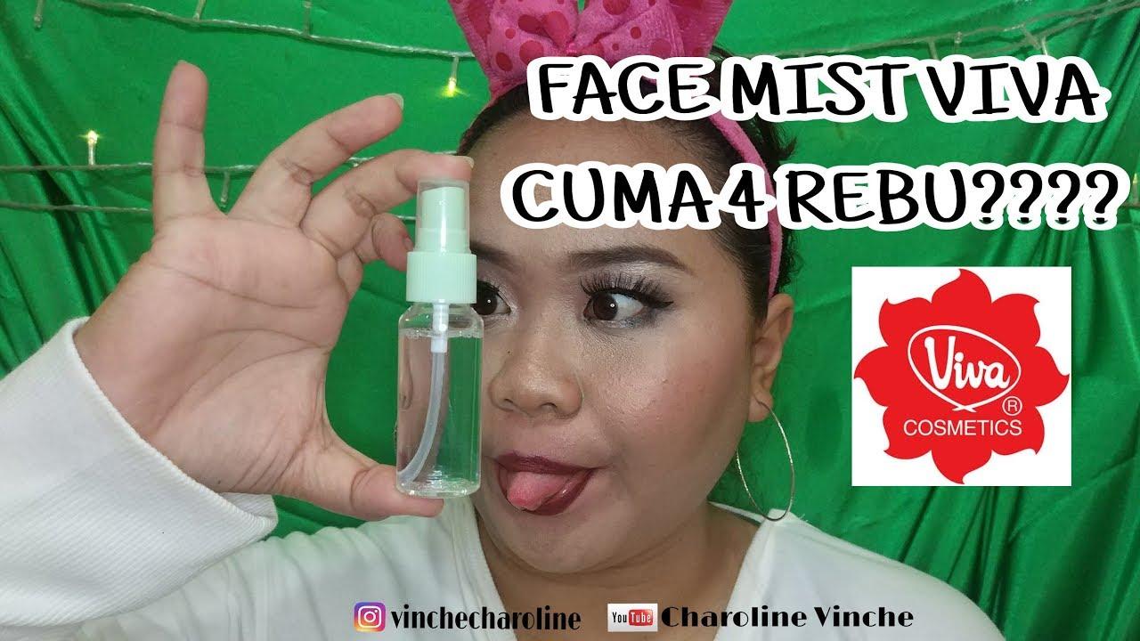 Diy Facemist Viva Air Mawar Charoline Vinche Youtube