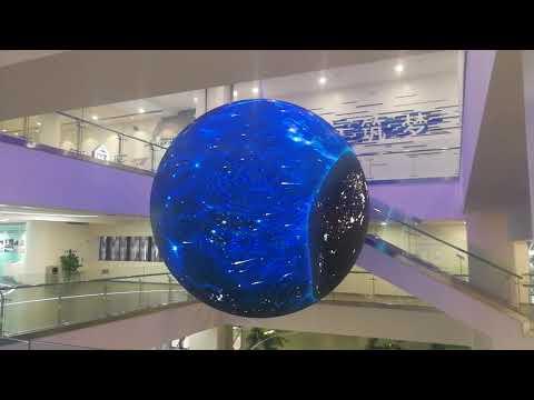 sphere led display indoor globe led screen