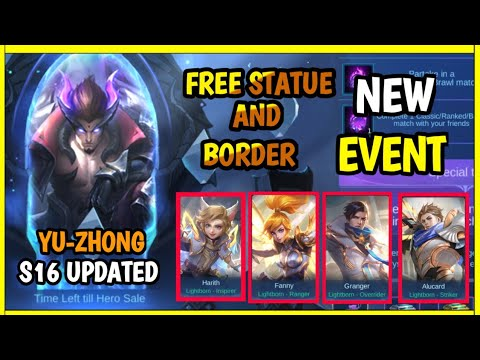 NEW EVENT FREE SACRED STATUE AND BORDER S16 + NEW UPDATE ...