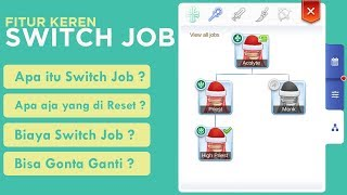Penjelasan Fitur Switch Job / Multi Job Ragnarok Mobile Eternal Love