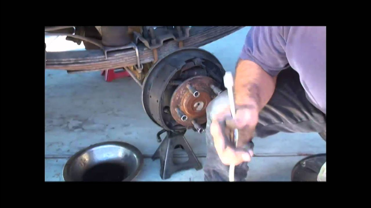 Bronco Rear Brakes Youtube Reassembe A 1992 Ford E250 Drum Brake Do You Have Diagram
