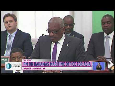 P.M MINNIS ON BAHAMAS MARITIME OFFICE FOR ASIA
