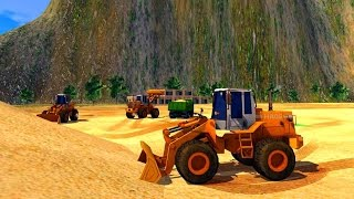 Loader & Dump Truck Hill SIM - Best Android Gameplay HD