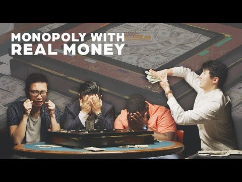 Strangers Play Monopoly with Real Money