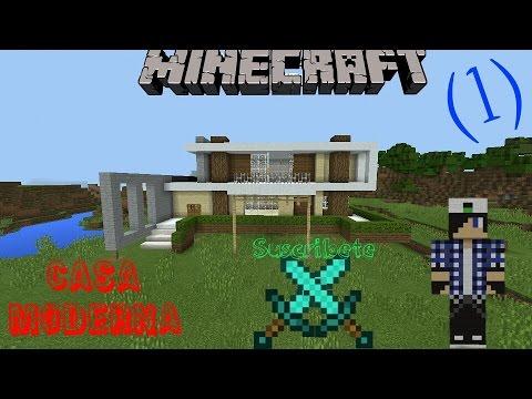 descarga casa moderna minecraft pe 1 youtube